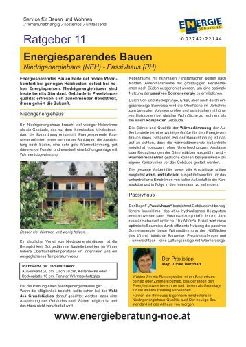 Bergabeprotokoll heizung kollar for Energiesparendes bauen
