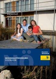 Wohnbauförderung Eigenheim 11. Auflage - baubook