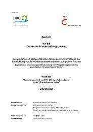 Abschlussbericht Vorstudie - Hochschule Anhalt