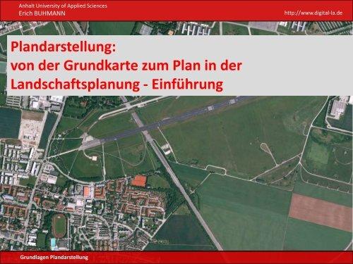 Plandarstellung - Hochschule Anhalt