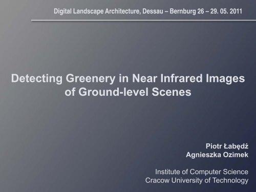 Digital Landscape Architecture, Dessau – Bernburg 26 – 29. 05. 2011