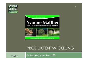 VL Produktentwicklung Aromen