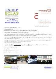 CODE LE:NOTRE+ECLAS2011 DLA Conference 2011 Bauhaus ...