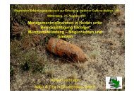 Managementmaßnahmen in Heiden unter Berücksichtigung ...