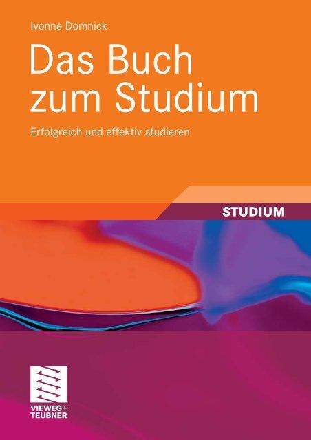 Das Buch zum Studium - Hochschule Anhalt