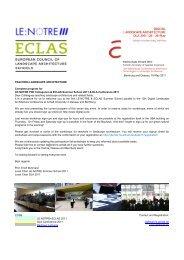 CODE LE:NOTRE+ECLAS 2011 DLA Conference 2011 Bauhaus ...