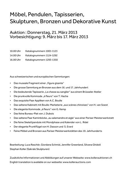 PDF Katalog - Koller Auktionen