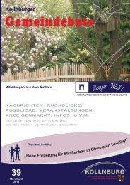 Gemeindebote Ausgabe 39.pdf (1.583 kb) - Kollnburg