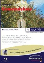 Gemeindebote Ausgabe 44.pdf (1.460 kb) - Kollnburg