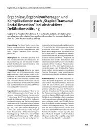 Stapled Transanal Rectal Resection