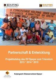 Partnerschaft & Entwicklung - Kolping DV Speyer