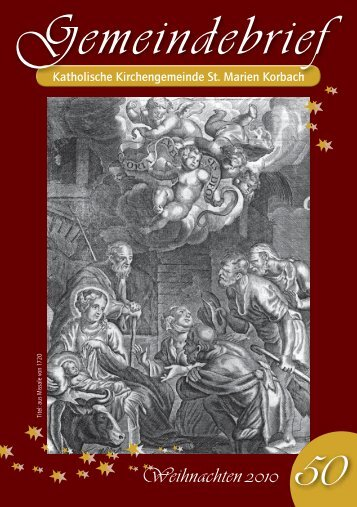 Gemeindebrief Nr. 50 - der Kolpingsfamilie Korbach