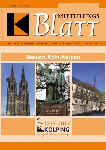 Besuch Köln-Kerpen - Kolpinghaus Meran