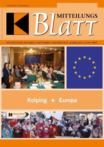 Kolping Europa - Kolpingwerk Südtirol