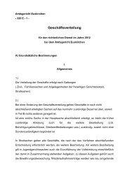 Geschäftsverteilung - Amtsgericht Euskirchen