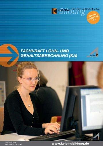Fachkraft Lohn- und Gehaltsabrechnung (KA)