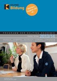 Karriere beginnt mit »K« - Kolping Bildung in Ober- und Mittelfranken