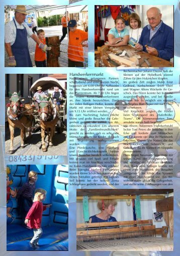Handwerkermarkt - Kolpingfamilie Schrobenhausen