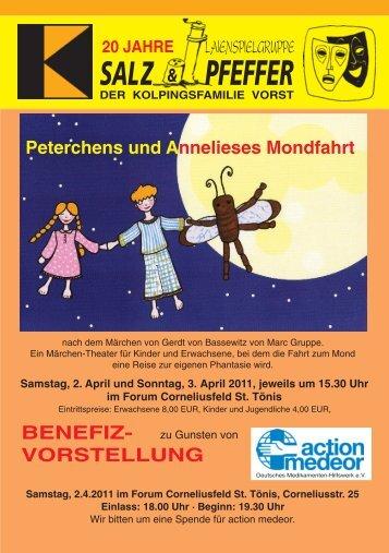 "20 Jahre Laienspielgruppe ""Salz & Pfeffer"" - Kolpingsfamilie Vorst"