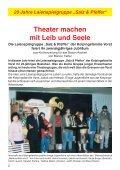 """20 Jahre Laienspielgruppe """"Salz & Pfeffer"""" - Kolpingsfamilie Vorst - Seite 2"""