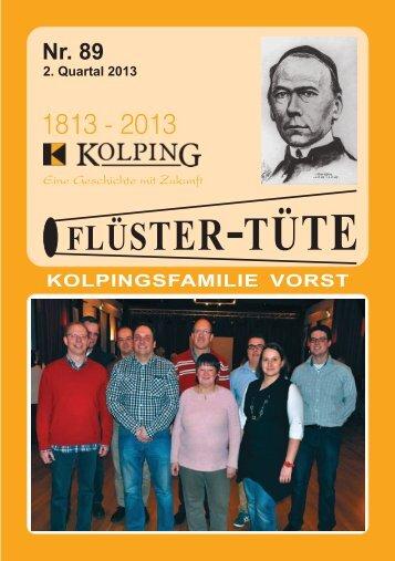 Fluester-Tuete 89 - Kolpingsfamilie Vorst
