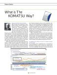 Feature Section : The Komatsu Way - Page 2