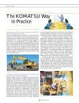 Feature Section : The Komatsu Way - Page 6