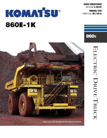 860E-1K - Komatsu