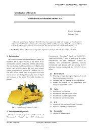 Introduction of Bulldozer D155AX-7 - Komatsu