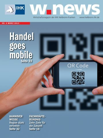 Handel goes mobile | w.news 03.2013