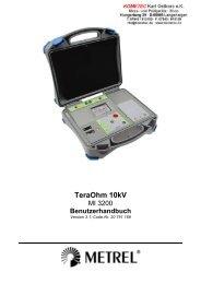 TeraOhm 10kV - Metrel