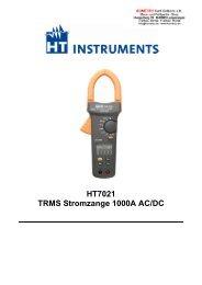 HT7021 TRMS Stromzange 1000A AC/DC