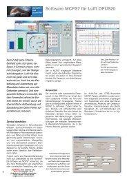 PDF-Beschreibung Software MCPS7