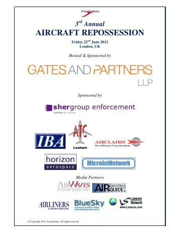 Annual AIRCRAFT REPOSSESSION - AeroPodium