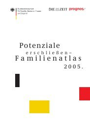 Familienatlas 2005 - Die Zeit