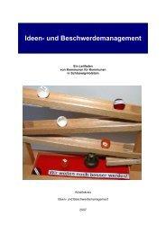 Ideen- und Beschwerdemanagement - Dokumentation der ...