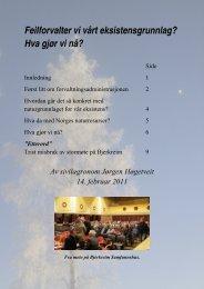 Hva gjør vi nå? - Norges Kommentar Avis