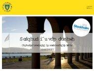 Planering för samarbete - Stockholms stad - KommITS