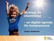 en digital agenda för kommunerna - KommITS