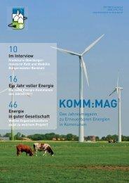 KOMM:MAG - Agentur für Erneuerbare Energien