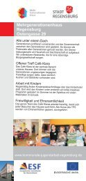 www.kommunale-jugendarbeit-regensburg.de Alle unter einem ...