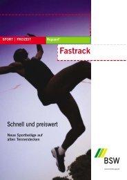 Prospekt Fast Track - Größe - planerinfo24