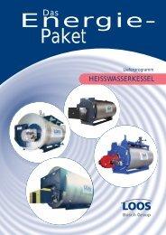 Das Energiepaket Lieferprogramm Heißwasserkessel