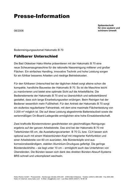 Presse-Information - Kommunalinnovationen.de