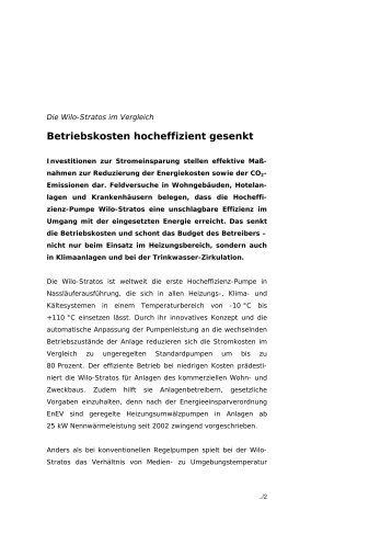 Betriebskosten hocheffizient gesenkt - Kommunalinnovationen.de