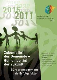 Nachlese zu den Kommunalen Sommergesprächen 2011