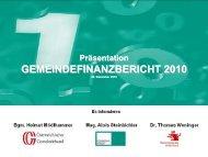 Präsentation - Kommunalkredit Austria AG