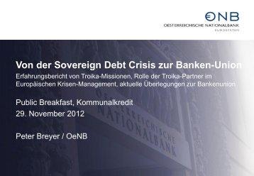 Peter Breyer, OeNB - Kommunalkredit Austria AG