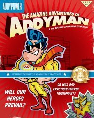 Winners Book - Addy Power 2012