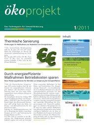 ökoprojekt - Kommunalkredit Austria AG